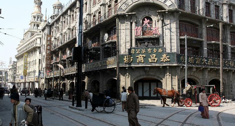上海影视基地现场教学